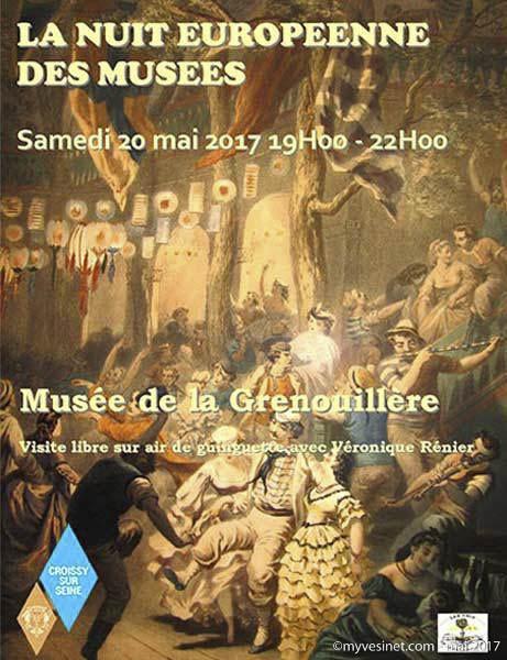 CROISSY-SUR-SEINE : LE MUSÉE DE LA GRENOUILLÈRE (19H00 À 22H00)