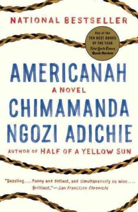Americanah de Chimamanda ngozi Adichie chez Gallimard